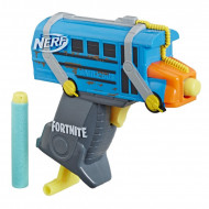 Pistol de jucarie Nerf Micro Battle Bus Fortnite Micro Shots