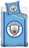 Lenjerie pat FC Manchester City 160x200 cm MCFC161001