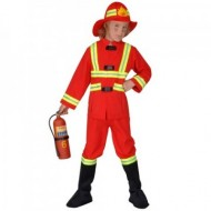 Costum de pompier 128 cm