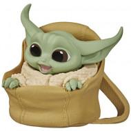 Figurina Baby Yoda in traista Mandalorian Star Wars