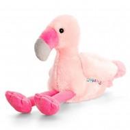 Flamingo de plus Pippins 14 cm