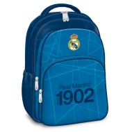 Ghiozdan Ergonomic Laptop Real Madrid 1902 cu 3 compartimente 45 cm