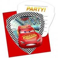 Invitatii pentru petrecere Cars 3