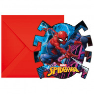 Invitatii pentru petrecere Spiderman
