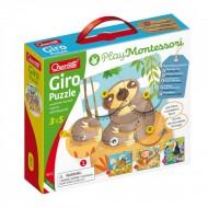 Joc creativ Giro Puzzle Play Montessori
