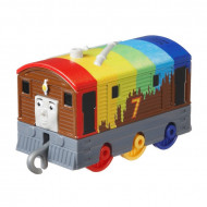 Locomotiva metalica Rainbow Toby Thomas si Prietenii