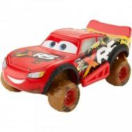 Masinuta metalica Fulger McQueen cu suspensii Cars Mud Racing