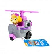 Masinuta Skye in elicopterul de salvare Patrula Catelusilor