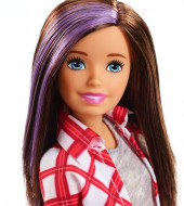 Papusa Barbie cu suvita mov Barbie Dreamhouse Adventures