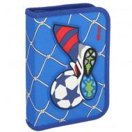 Penar 3D echipat cu parti pliabile Football Goal albastru Spirit 50 piese