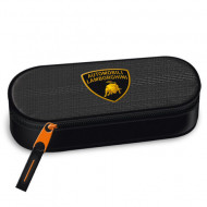 Penar etui dreptunghiular negru - gri Lamborghini