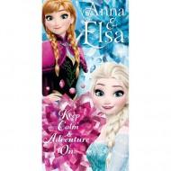Prosop Anna si Elsa Frozen 140x70 cm