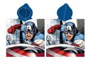 Prosop poncho Capitanul America Avengers 100x50 cm