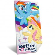 Prosop Rainbow Dash si Fluttershy My Little Pony 140x70 cm