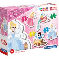 Puzzle 4 in 1 Printesele Disney Clementoni 30 piese