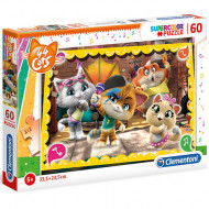 Puzzle 44 Cats Clementoni 60 piese