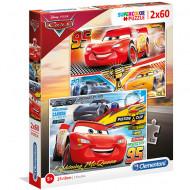 Puzzle Cars 3 Clementoni 2x60 piese