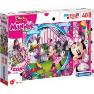 Puzzle de podea Minnie Mouse 40 piese