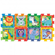 Puzzle din spuma Happy Zoo 8 piese