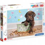 Puzzle Lovely Puppy Clementoni 180 piese