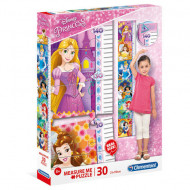Puzzle Measure Me Printesele Disney Clementoni 30 piese