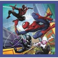Puzzle Spiderman in actiune 3 in 1