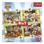 Puzzle Toy Story 4 - Echipa 4 in 1
