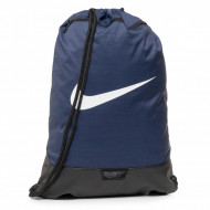 Sac de umar cu snur Nike Brasilia mare albastru-inchis