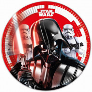 Set 8 farfurii de unica folosinta Star Wars 20 cm