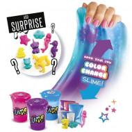 Set de creatie Slime Shaker Colour Changer So Slime 3 pachete