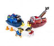 Set de joacă Chase și Marshall Pirate Vehicles Patrula Catelusilor Pirate Pups