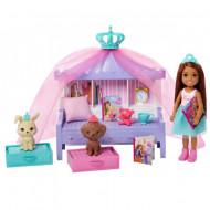 Set de joaca Dormitorul lui Chelsea Barbie Princess Adventure