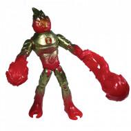 Set de joaca figurina Heatblast Ben 10 Omni-Metallic