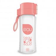 Sticla pentru apa roz-transparent Ars Una 450 ml