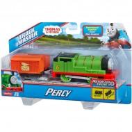 Trenulet Percy Locomotiva Motorizata cu Vagon Thomas&Friends Track Master
