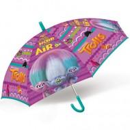 Umbrela manuala Trolls 70 cm