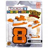 Vehicul transformabil Cifra 8 Submarin Pocket Morphers