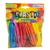 Baloane de petrecere colorate cu desene 5 bucati