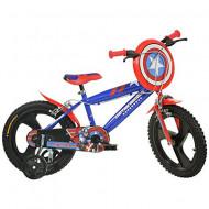 "Bicicleta copii Capitanul America 14"""