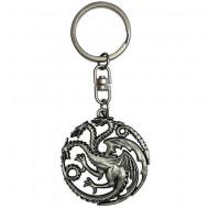 Breloc metalic 3D Targaryen Urzeala Tronurilor