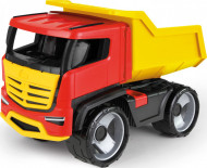 Camion rosu galben Lena 52 cm