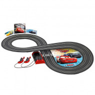 Circuit electric masinute Fulger McQueen si Jackson Storm Cars 3 Carrera First 2,4 m