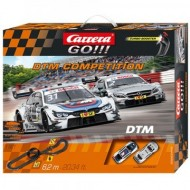 Circuit electric masinute Mercedes AMG si BMW M4 DMT Competition Carrera Go 6,2 m