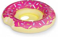 Colac gonflabil pentru bebelusi Gogoasa roz
