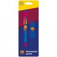 Creion mecanic si rezerve FC Barcelona 0.5 mm