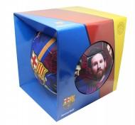 Cutie pentru cadou minge FC Barcelona