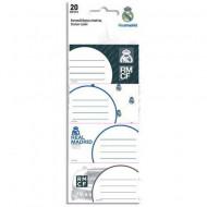 Etichete caiet FC Real Madrid 20 buc