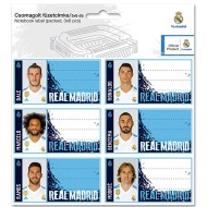 Etichete caiet FC Real Madrid 2017-2018 18 buc