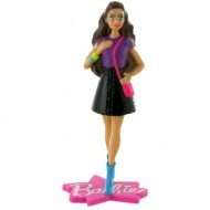 Figurina Barbie cu geanta roz Barbie Fashion