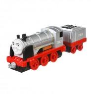 Locomotiva Merlin Invizibilul cu vagon Trenulet din Metal Thomas&Friends Adventures